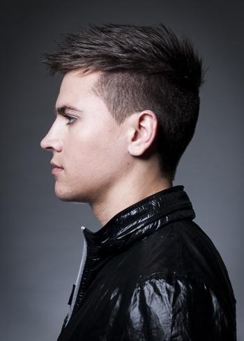 Причёски на средние волосы для парней